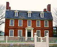FARMHOUSE Vintage Early American Farmhouse The Derby House On Street Salem