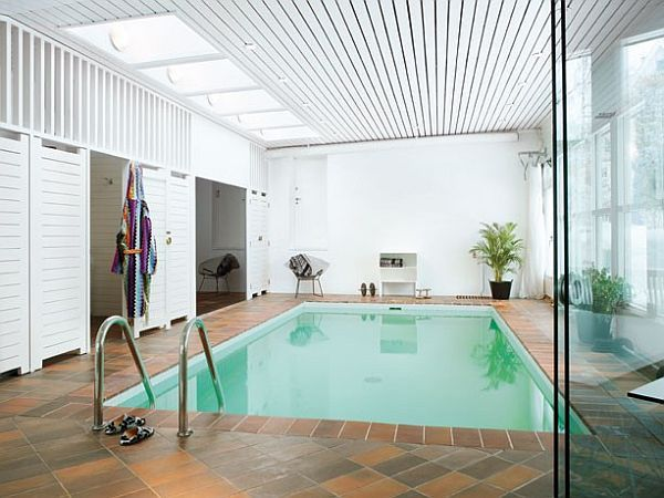 Warm Home With Amazing Indoor Swimming Pool