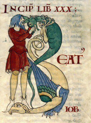 How to eat your dragon (B-eatus, Dijon BM 170, 12th c)
