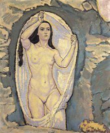 Koloman Moser Venere nella grotta (ca. 1915)