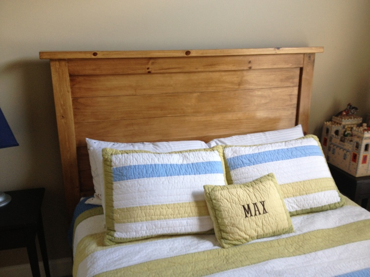 Furniture Rustic Wood Bed Headboards With Mantel Having: Knotty Pine Headboard