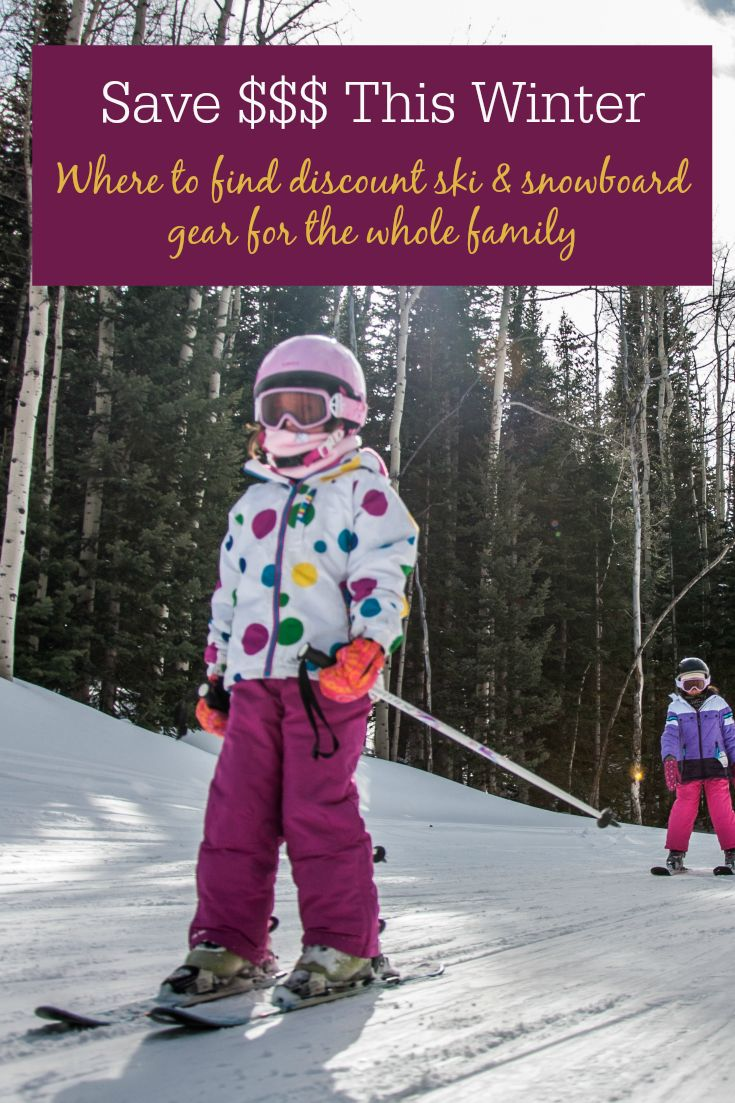 Save money on outdoor gear and winter clothing for the whole family. Where to buy really cheap ski & snowboard gear, outdoor clothing, and winter travel gear. Where to buy discounted outdoor gear for everyone on your shopping list. Pin this post and save this holiday season.