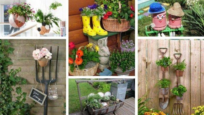 Making Unusual Diy Garden Decoration Yourself – 40 Upcycling Garden Ideas Diy Garden Decor 400 x 300