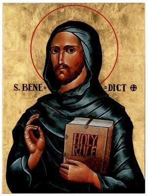 """the beliefs of st benedict about god and his foundation of the rule of st benedict Saint benedict quotes usually come from the rule of st benedict celebrate st benedict day with a coloring page of him and his medal  """"god forgive you ."""
