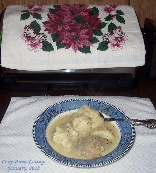 Homemade Chicken and Dumplings