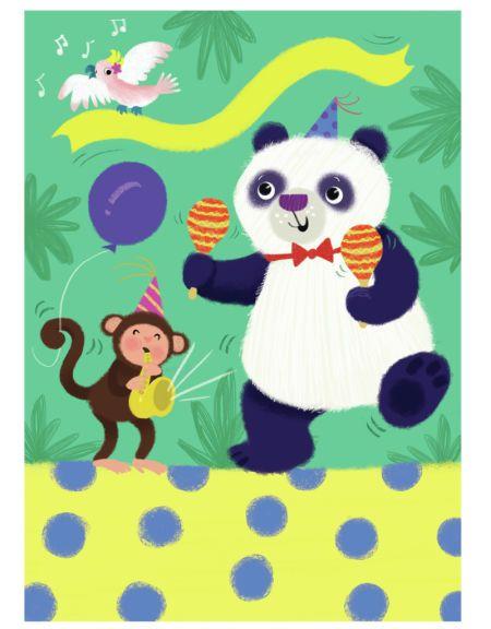 Melanie Mitchell - Panda Party Birthday, Melanie Mitchell