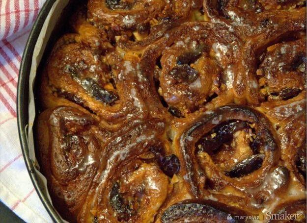 Ciasto drożdżowe rozetka