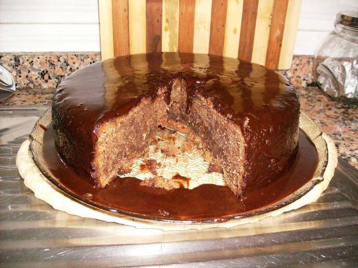 Bolo de Chocolate e Curgete | SaborIntenso.com