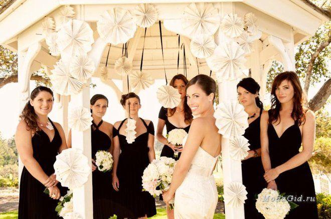 Свадебная мода: Модные платья для подружек невесты: цвета