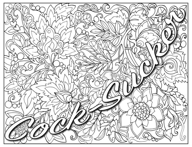 Set Of 14 Hand Drawn Decorative Flowers For Coloring Book Ornate Line Art Drawings This Is Perfect Adult And Older Children ID 38743