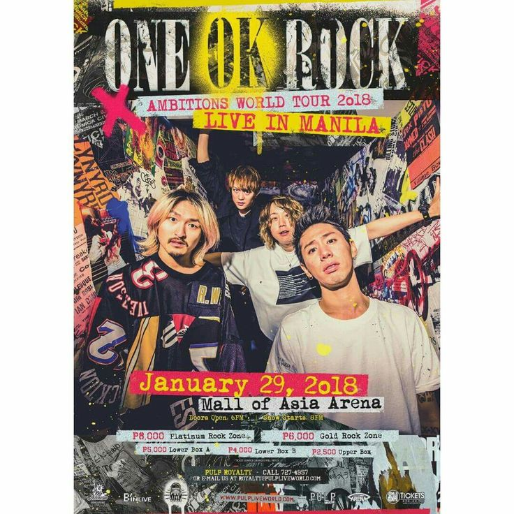 ONE OK ROCK LIVE IN MANILA 2018 AMBITIONS ASIA TOUR