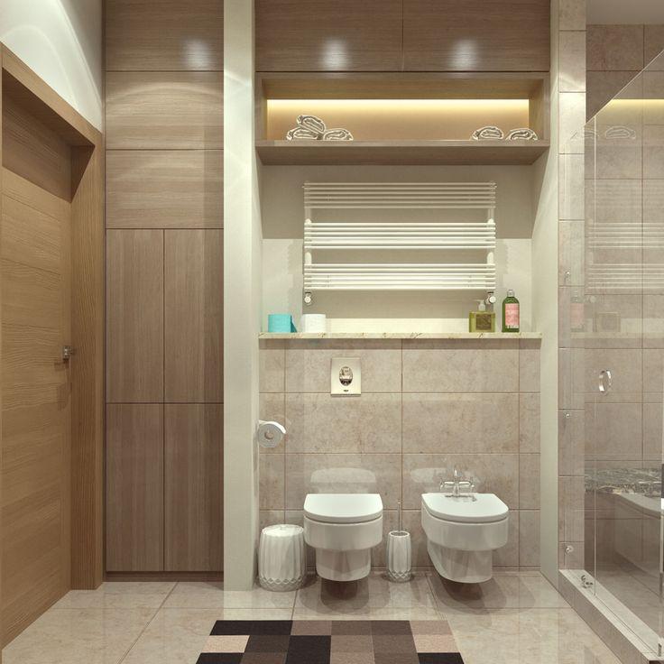 Дизайн-проект интерьера квартиры в ЖК «Панорама» (Ялта). Дизайн-студия ROMM. Симферополь || Разработка сайтов, веб дизайн, Графический дизайн, 3D визуализация, Дизайн интерьера, Дизайн среды