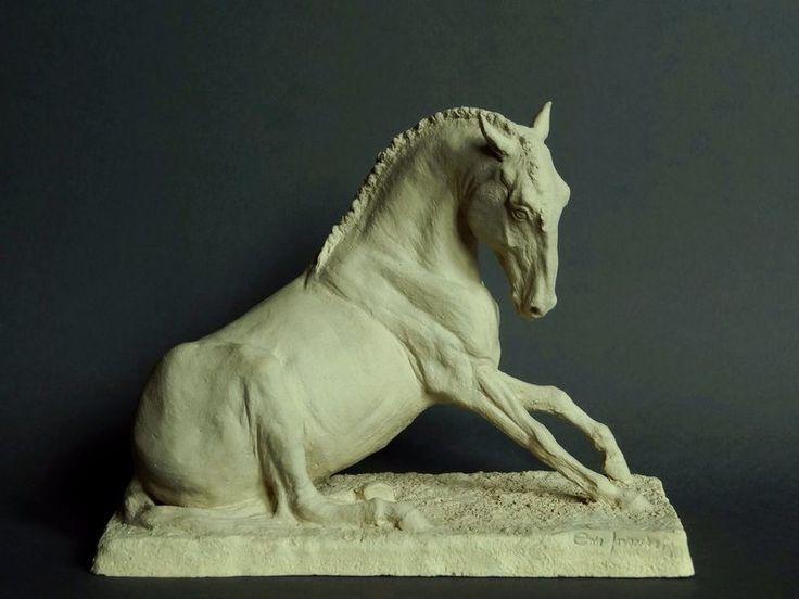 konie iberyjskie - ceramiczne konie