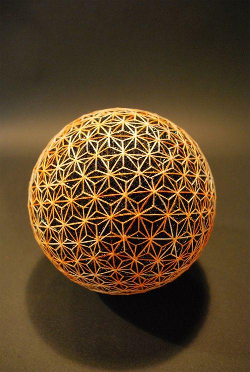【日本文化】あふれるインスピレーション「おばあちゃんが作った手毬」の宇宙が壮大過ぎて、可能性が広がりまくり