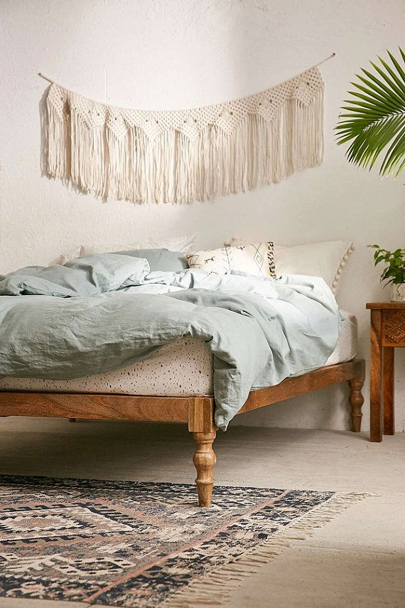 Platform Bed Wood Siderails, and Footboard to attach to a