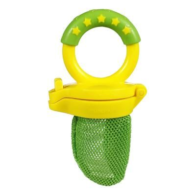 Fresh Food Feeder..I love this! Great way to give your little one fruits & veggies without the worry of choking. Also great for teething. Place frozen fruits in feeder & watch your little one enjoy the cold sensation on their gums.
