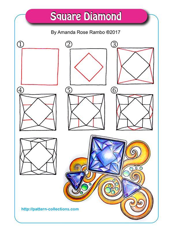 Square Diamond by Amanda Rose Rambo