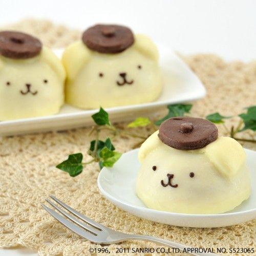 日本人のおやつ♫(^ω^) Japanese Sweets ぽむぼむぷりんケーキ?
