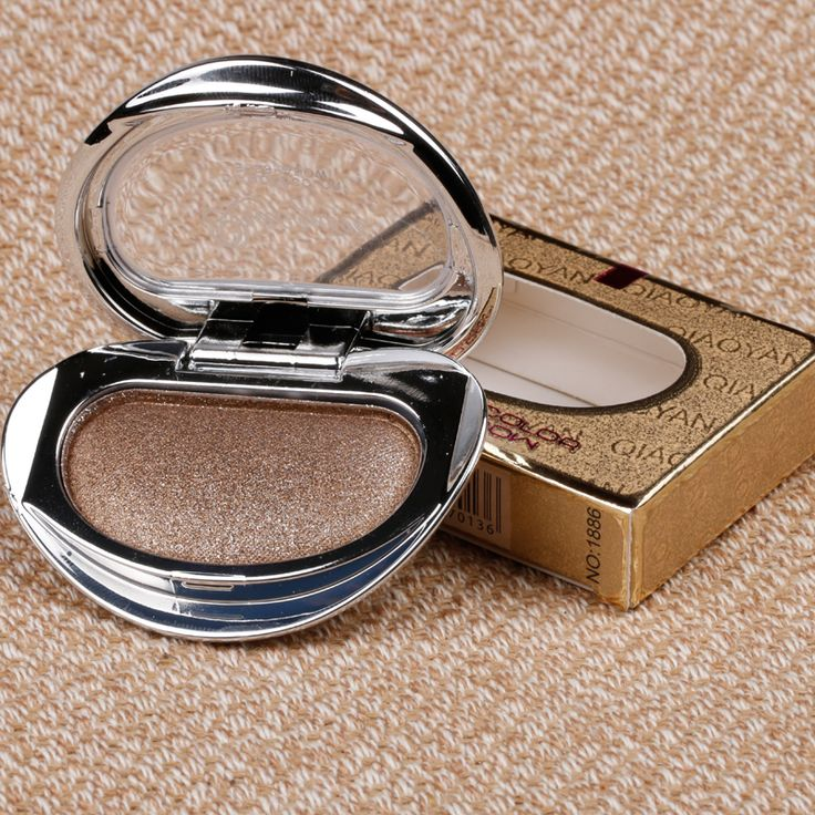 1pcs New Single Baked Eye Shadow Powder Makeup Palette in Shimmer Metallic Glitter Cream Eyeshadow Palette. Click visit to buy #EyeShadow