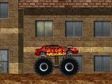 Büyük canavar kamyon