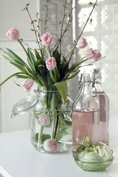shabby chic decoration idea