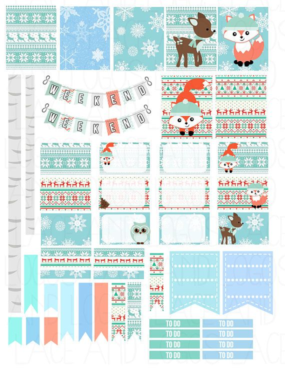 Happy Planner Calendar Printables : Ideas about printable planner stickers on pinterest