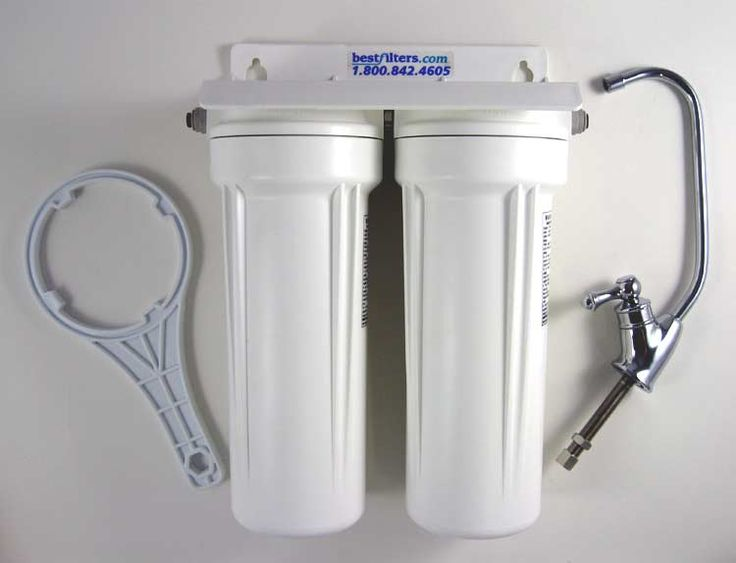Superb Under Sink Water Filter By BestfFilters   Two Stage Water Filtration System  For Municipal Water Supplies, Replaceable Filters And Added Cyst And  Pathogen ...