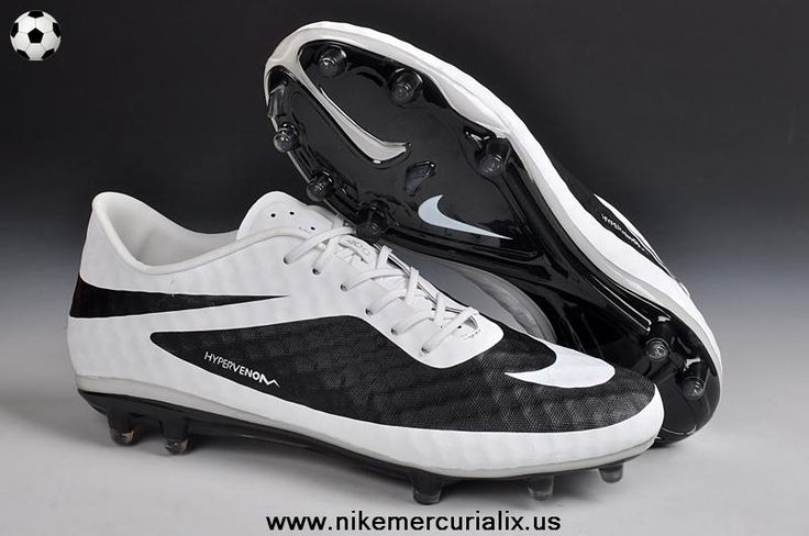 Nike Hypervenom Phantom FG (Black/White) Football Boots