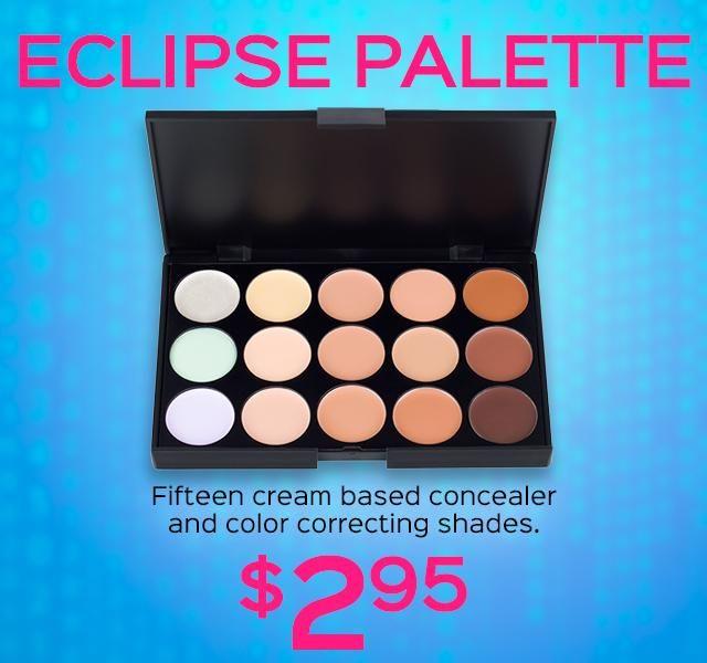 Eclipse Palette #affilate #makeup #concealer #palette