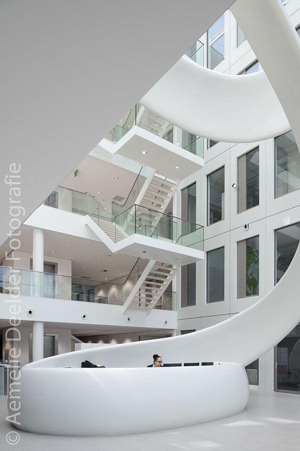 Project: Friesland Campina Innovation Centre Location: Wageningen UR, NetherlandsClient: Fokkema & Partners ArchitectenYear: 2013