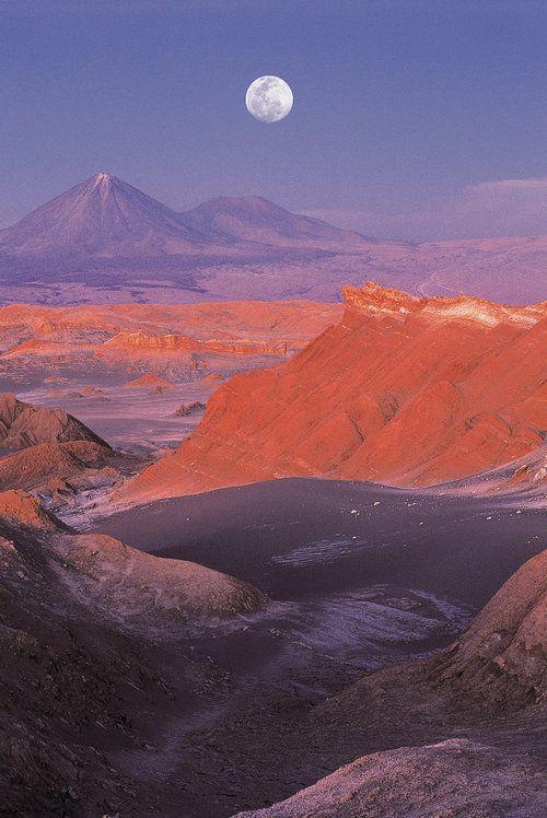 The desert of Atacama