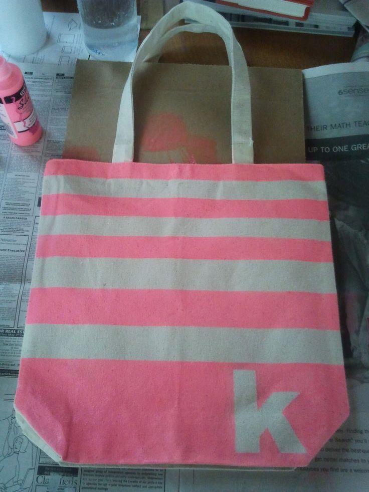 Canvas Tote Bag Tutorial Crafts And Diy Diy Tote Bag