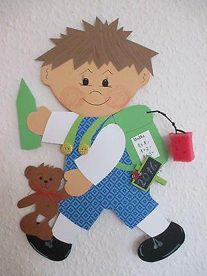Fensterbild*Tonkarton*Einschulung*Sommer*Herbst*Deko*Schulkind Maxi • EUR 10,00