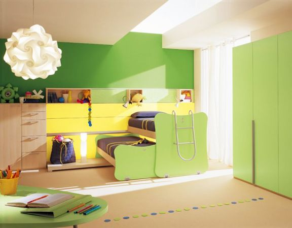 Be imaginative and have fun with your child's lighting. #lighting #toddler