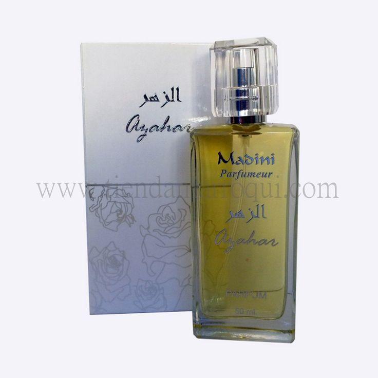 Perfume azahar de Perfumería Madini Marruecos. Si te gustan los perfumes árabes, estos te fascinarán. Envío inmediato