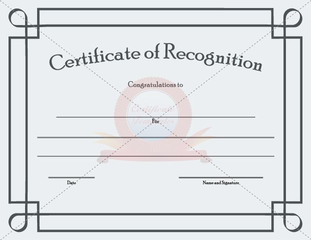 12 best RECOGNITION CERTIFICATE TEMPLATES images on Pinterest - fresh application and certificate for payment template