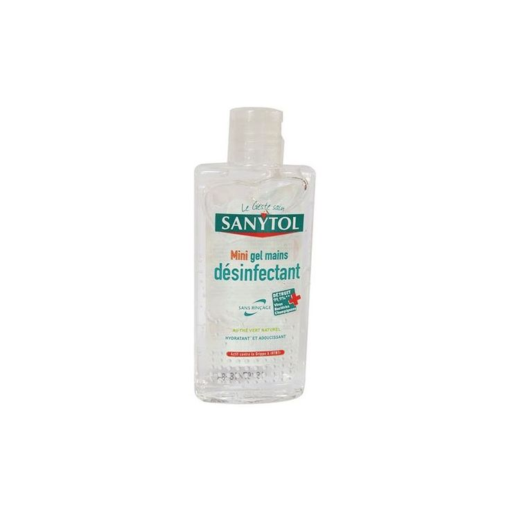 Gel Hydroalcoolique Sanytol 75ml 225076 Soap Bottle Personal