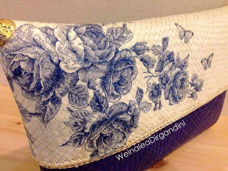What a beauty!!! Decoupage clutch by Weinalea Dirgandini