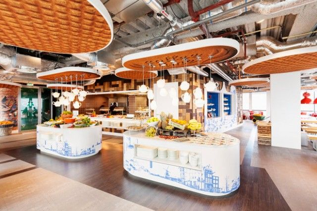 Inside Google Office in Amsterdam