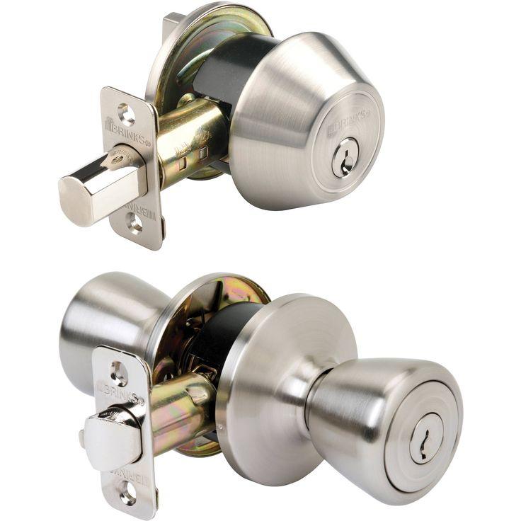 Keyed Door Knob And Deadbolt Lock