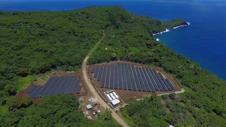 Tesla alimente une île de 600 habitants en énergie solaire