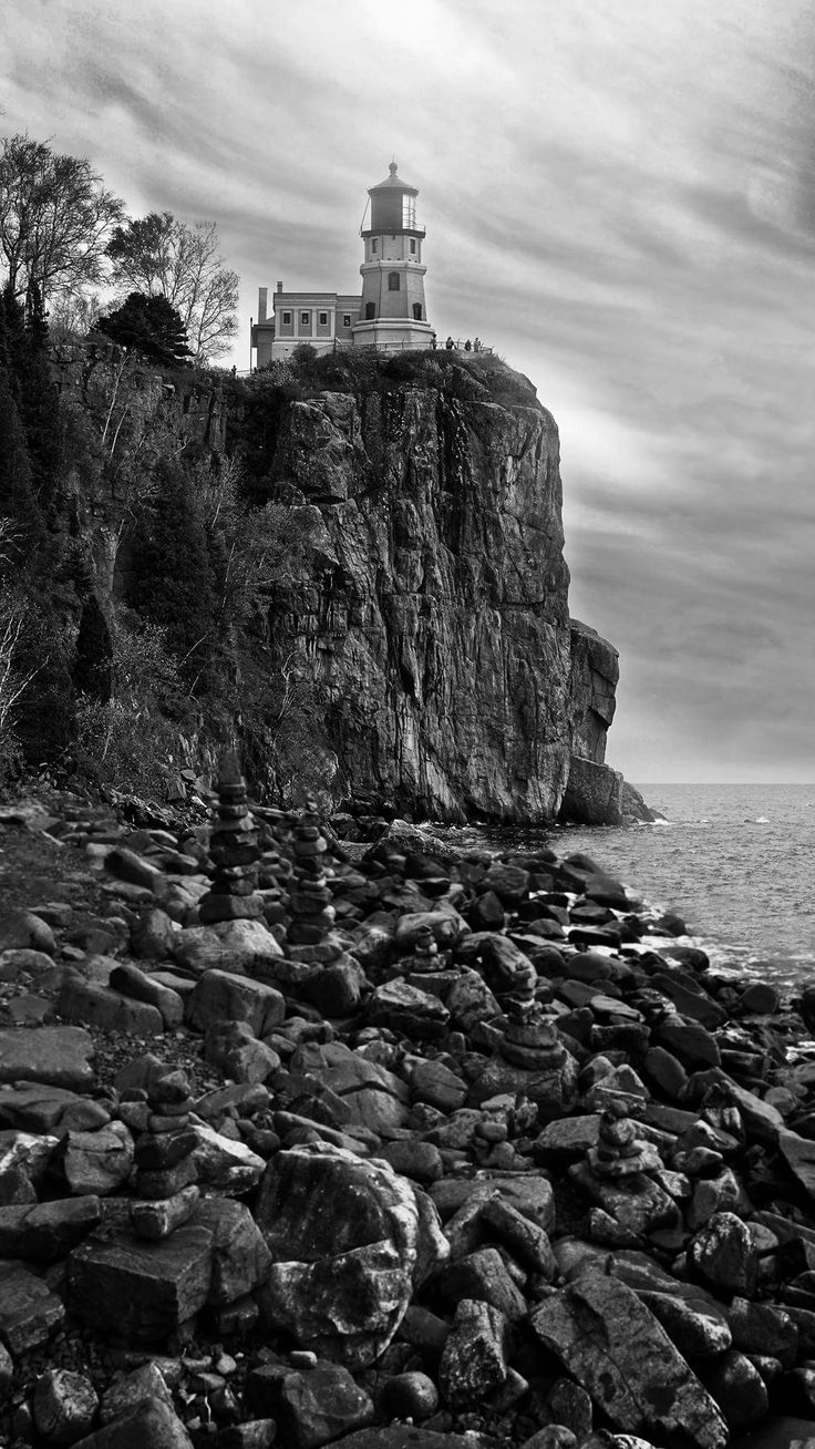 Split Rock Lighthouse,  Lake Superior. Copyright J. Nathaniel Dicke / Evermore Photography, Minneapolis #evermorephotographympls