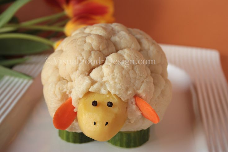 awesome sheep, fun food