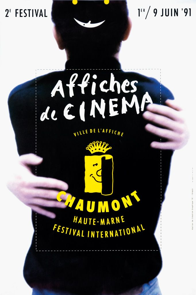 Grapus, International Poster and Graphic Design Festival Chaumont, 1990