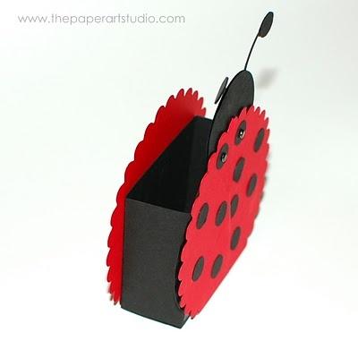 lady bug treat box - bjl