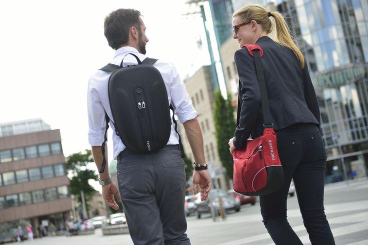 Bolso BlackBox y Bolso Shoulder-it Front. Productos Racktime para tu #bicicleta  http://shop.racktime.cl