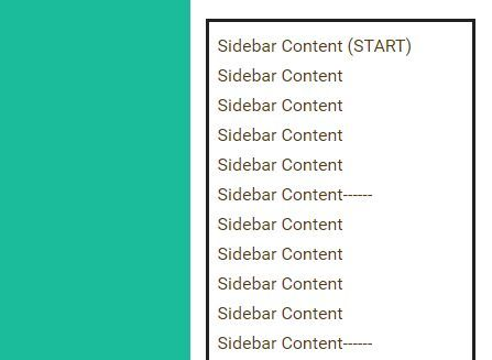 sidebarFix.js is a very small jQuery plugin that make the sidebar widgets be always visible when the webpage page is scrolled down or up.