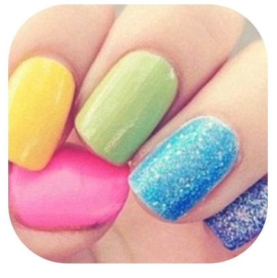 : Nails Nails, Nail Polish, Makeup, Colors, Nail Designs, Nail Ideas, Easter Nails, Nail Art