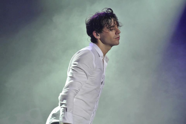 Mika omfg he's gorgeous @ Cirque Royal, Brussels, BELGIUM Nov 03 2012