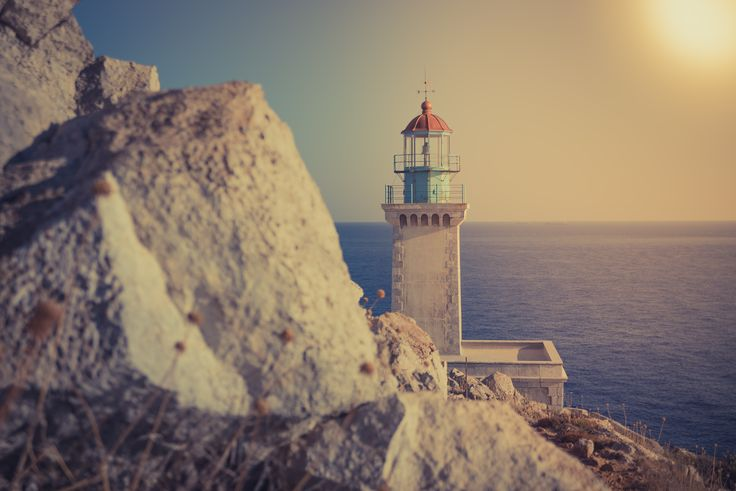 The lighthouse - lighthouse in Greece, Mani